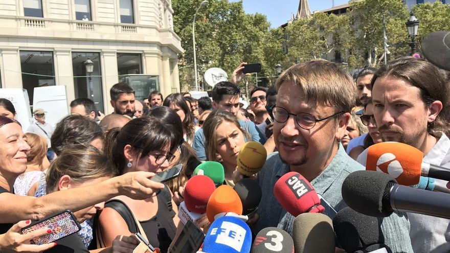 """Domènech (CatComú) espera que la votación revele la """"crisis"""" del Estado autonómico"""