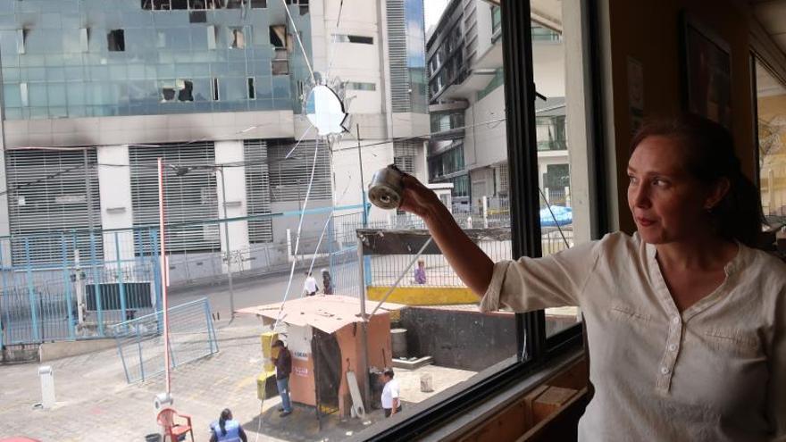 Ecuador, ante el lento despertar de la pesadilla del saqueo en las protestas