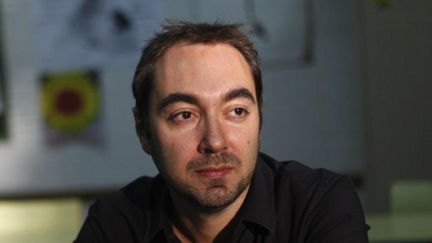 El escritor Fernando J. López, autor de 'La edad de la ira'.