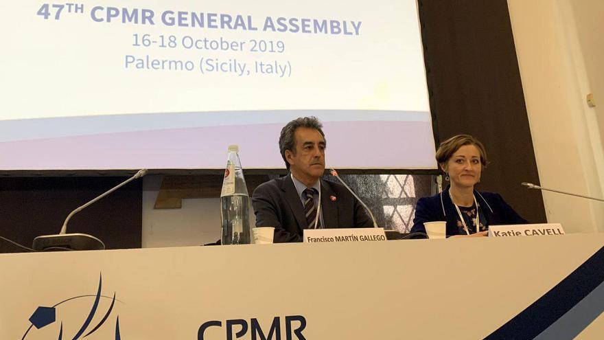 Francismo Martín en la Conferencia de Regiones Periféricas Marítimas (CRPM).