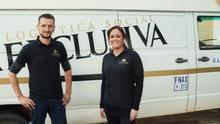 Victoria y Hugo, emprendedores y encargados de la empresa