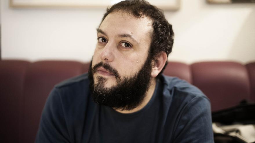 Guillermo Zapata, concejal de Ahora Madrid. / Elise Fitte-Duval