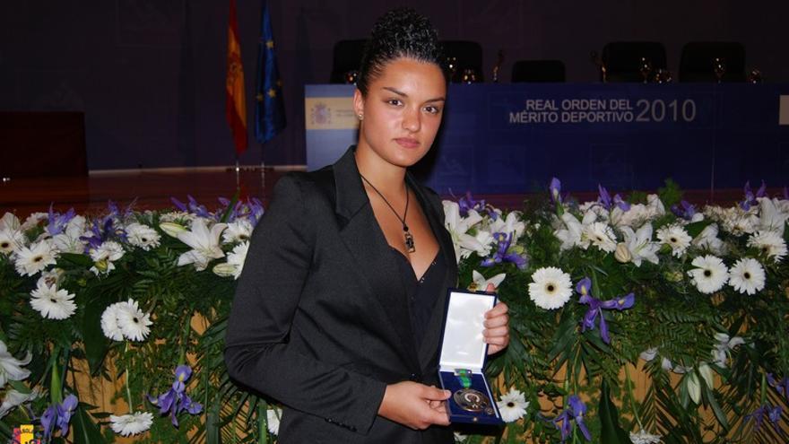 Imagen de archivo de  Rosana Simón, campeona de Taekwondo.