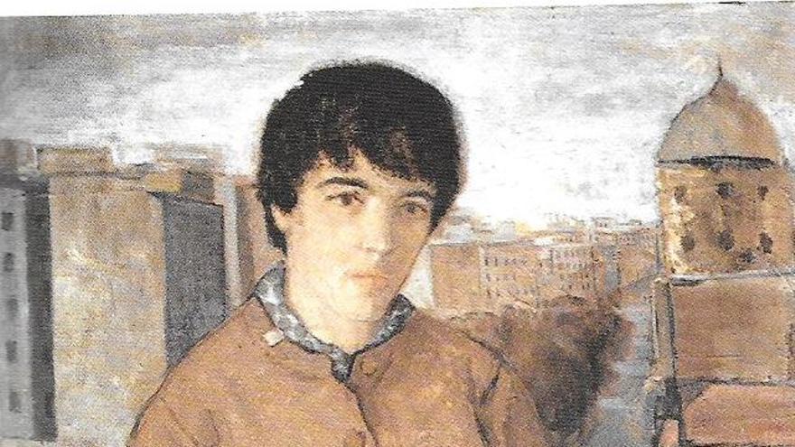 Amalia Avia pintada por su marido, Lucio Muñoz