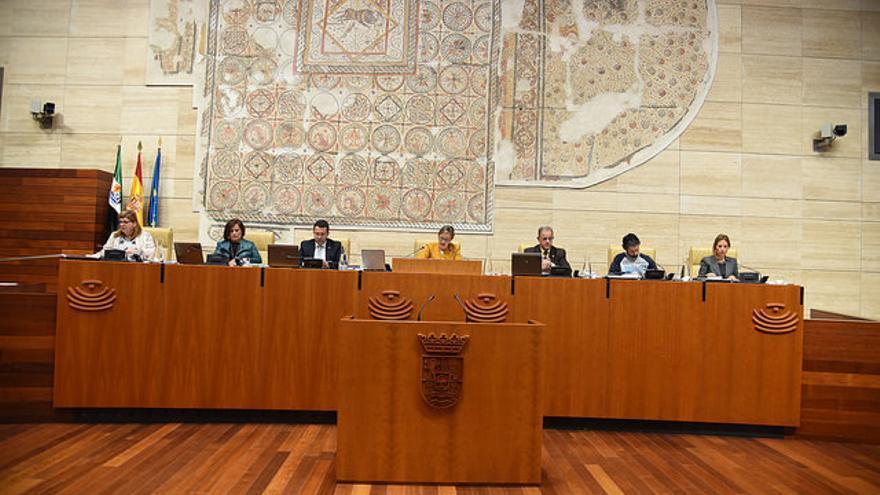 Hemiciclo Asamblea Extremadura