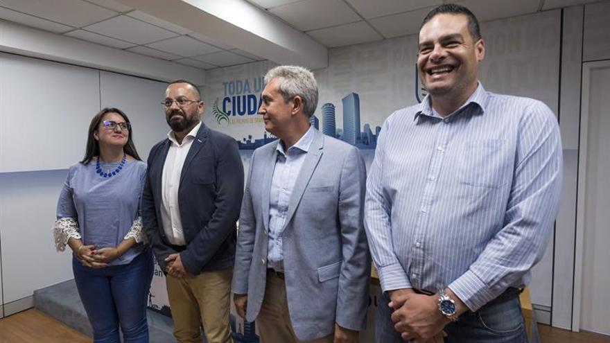 Los concejal de Bienestar Social de Las Palmas de Gran Canaria, Santa Cruz de Tenerife, Telde y La Laguna