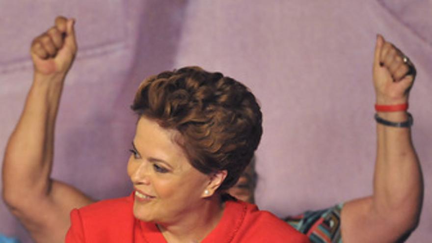 Candidata del partido de los Trabajadores de Brasil, Dilma Rousseff