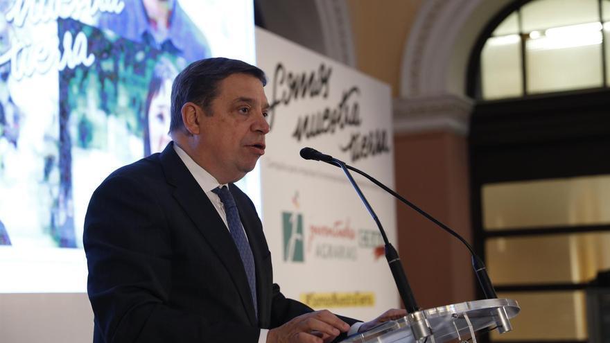 El ministro Luis Planas, en una intervención dentro del programa de su visita a Gran Canaria, este lunes y martes