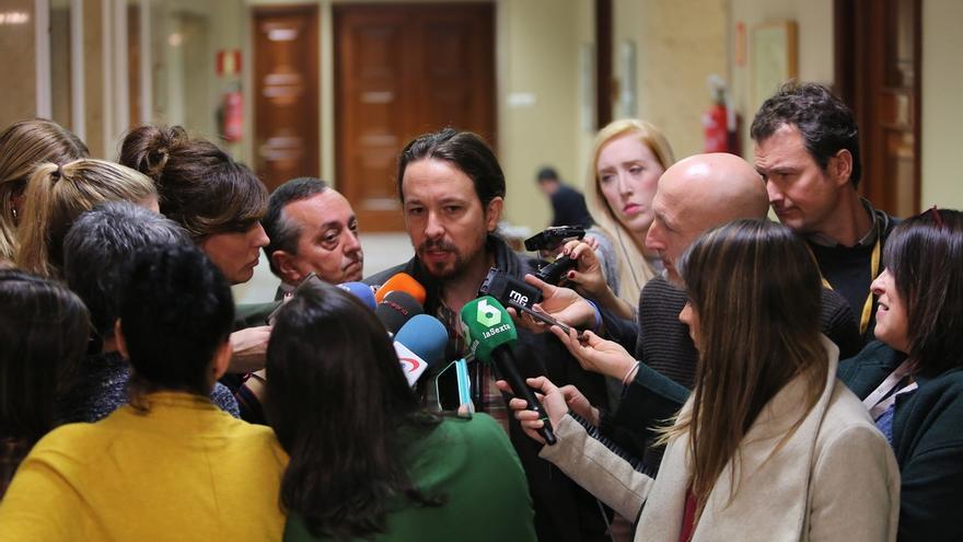 """Pablo Iglesias achaca a """"la presión"""" de Podemos que Fernández Díaz no presida Exteriores"""