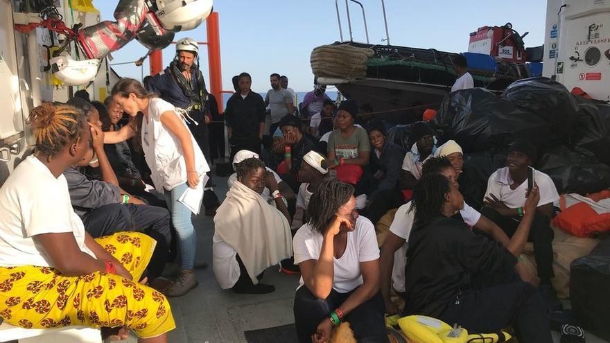La flota del Aquarius llegará escalonadamente a València y se atenderán las necesidades de manera individualizada