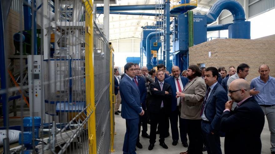 Inauguración nueva planta de biomasa en Cuenca