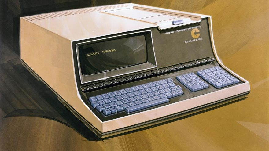 Una ilustración del Datapoint 2200