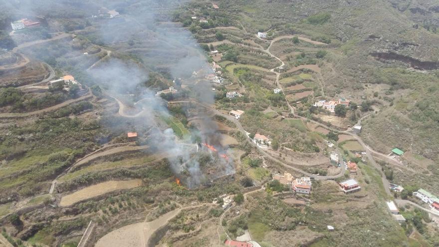 Conato de incendio en Gran Canaria