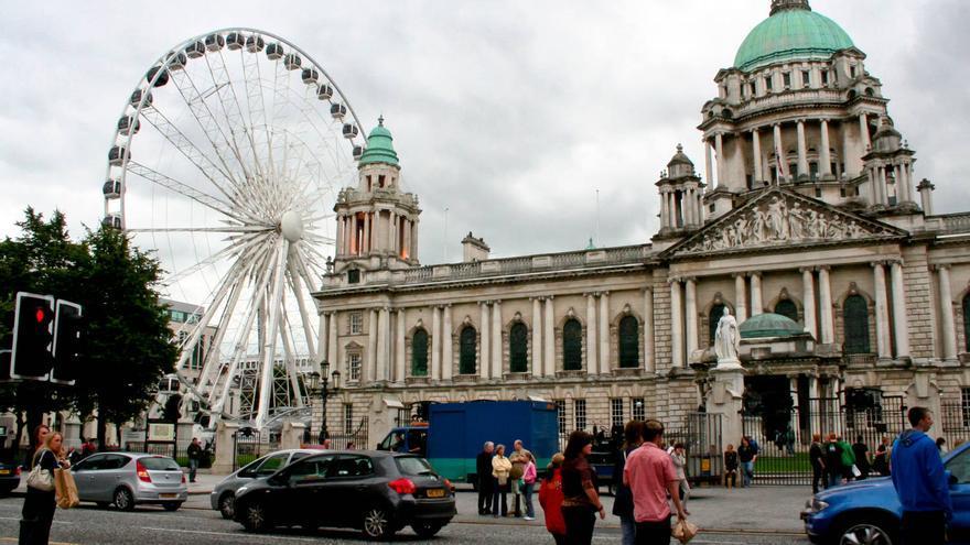Ayuntamiento de Belfast, uno de los edificios más impresionantes de la capital de Irlanda del Norte.