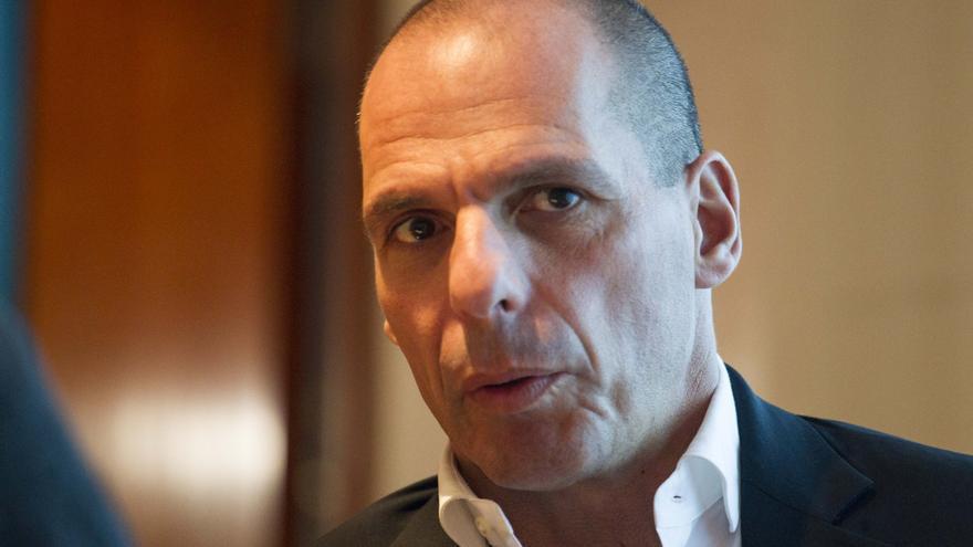 Varoufakis ha visitado Barcelona para presentar las propuestas de DiEM25 sobre Catalunya