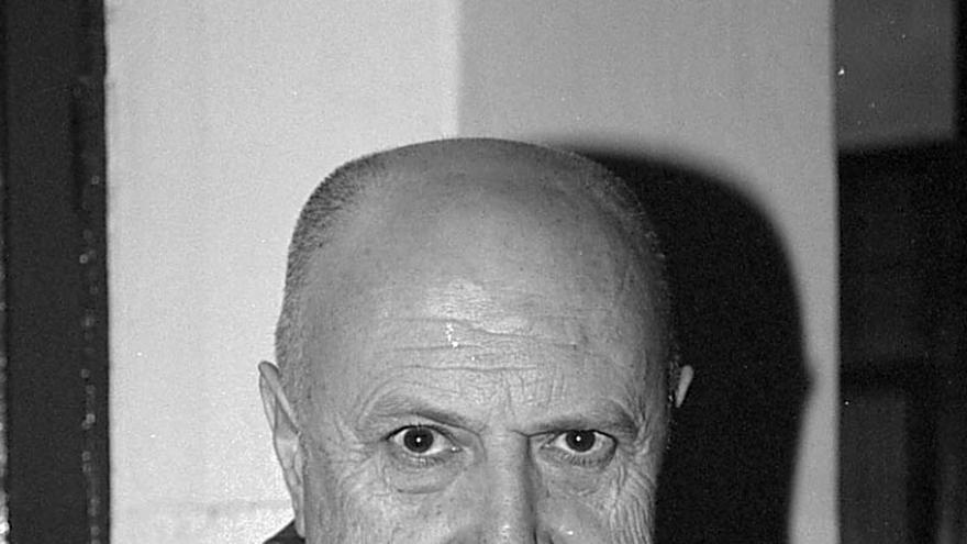 El escritor Xosé Luís Méndez Ferrín
