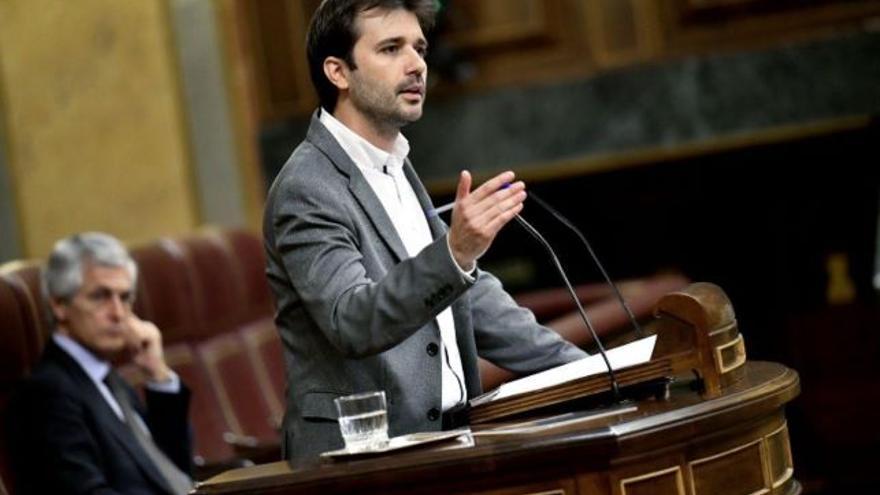 El diputado de Unidas Podemos en el Congreso, Javier Sánchez Serna
