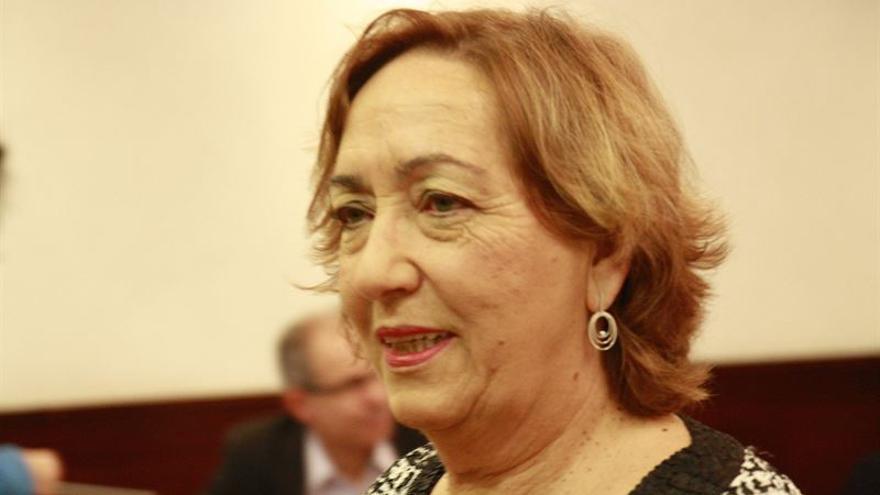 María Luisa Soriano, en el debate de Investidura de Castilla-La Mancha