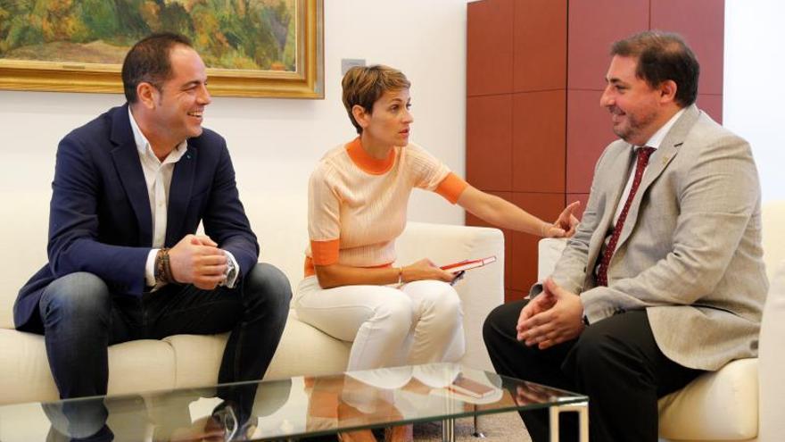 María Chivite (PSN), candidata a la investidura este jueves