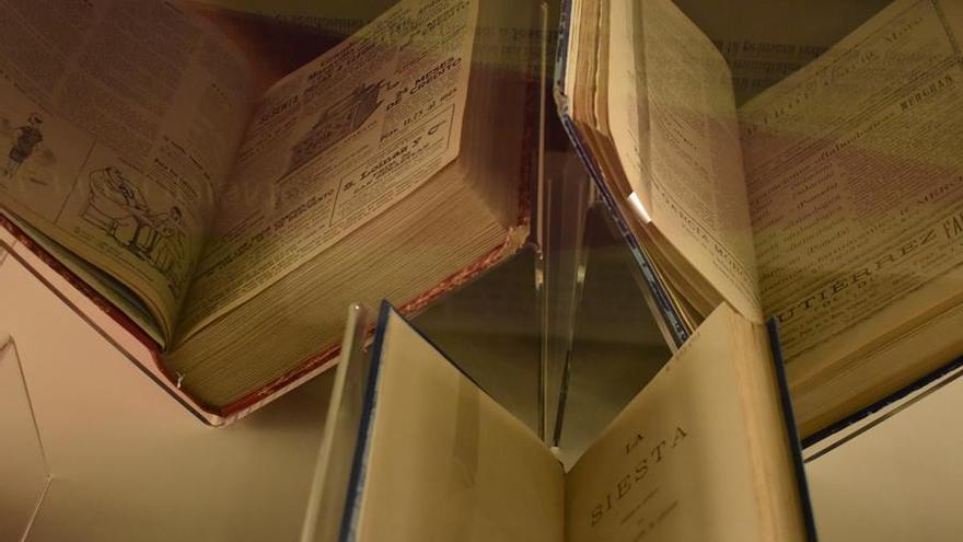 exposición biblioteca regional