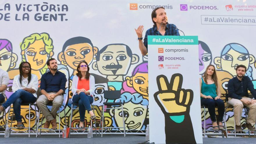 [UP] Campaña electoral Pablo-Iglesias-interviene-Valenciana-Alicante_EDIIMA20160617_0785_5