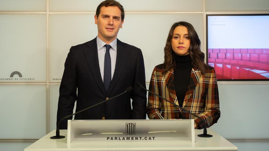 Rivera y Arrimadas encabezarán la delegación de Ciudadanos en la manifestación contra la política de Sánchez en Cataluña