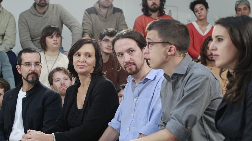 El núcleo duro de Pablo Iglesias copa los primeros lugares de las listas y se garantiza el escaño