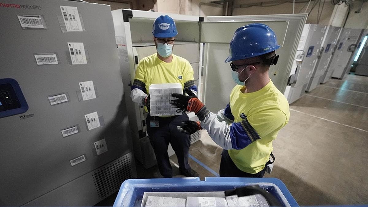 Las dosis serán expedidas en cajas con nieve carbónica, que las mantendrá a -70 ºC