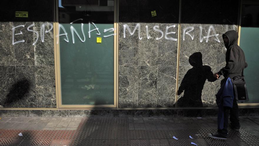 España es uno de los países más desiguales de Europa. AP/GTRESONLINE