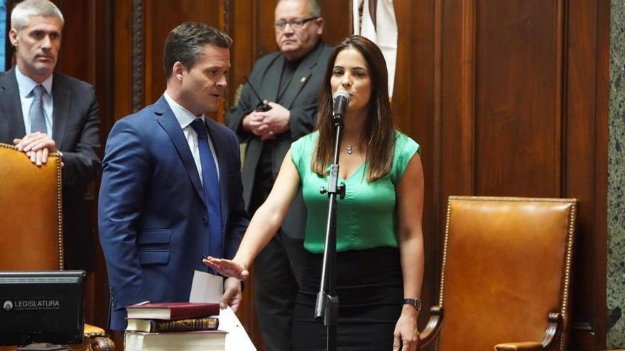 Tiene 31 años y lleva dos períodos como auditora general de la Ciudad: en diciembre juró por segunda vez.