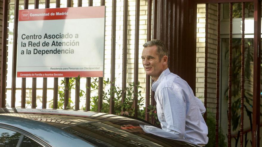 Iñanki Urdangarin, llega procedente de la prisión de Brieva (Ávila), al Hogar Orione de Pozuelo de Alarcón, un centro dedicado al cuidado de personas con discapacidad.