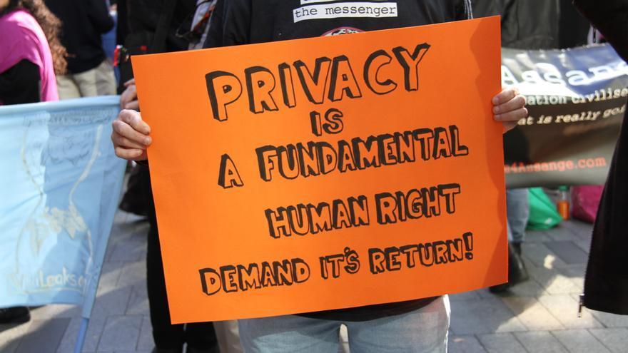 Manifestación en Sidney contra la vigilancia © Richard Milnes / Demotix