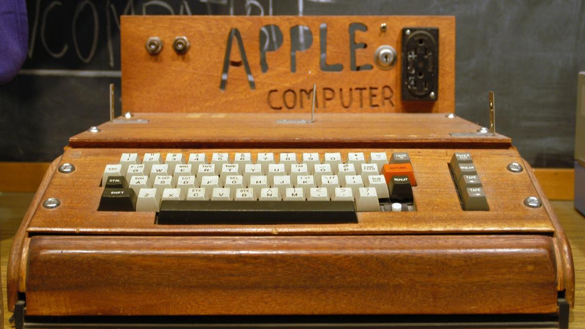 Apple I expuesto en el Smithsonian Institution