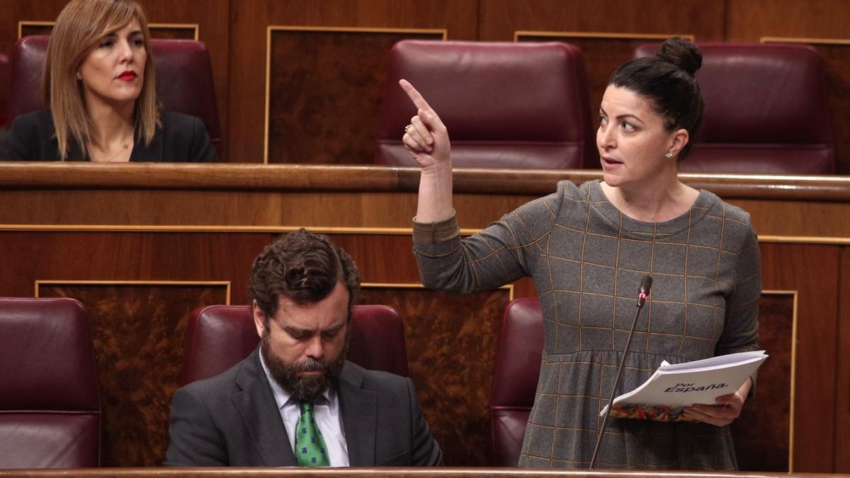 """Vox acusa al Gobierno de tener """"secuestrado"""" el Congreso en el estado de alarma"""