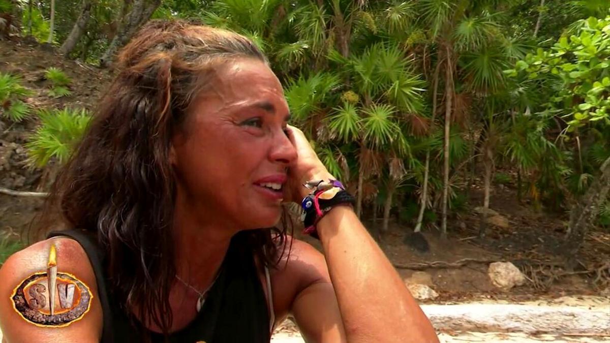 Olga Moreno, en la isla de 'Supervivientes 2021'