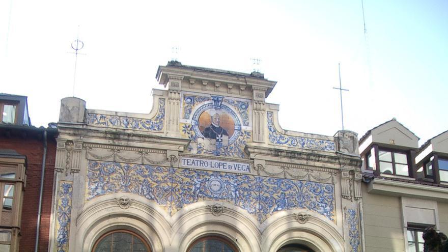 El Teatro Lope de Vega de Valladolid.