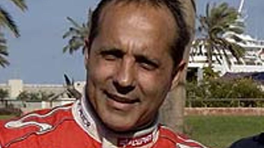 Luis Monzón, promotor del Rally Islas Canarias.