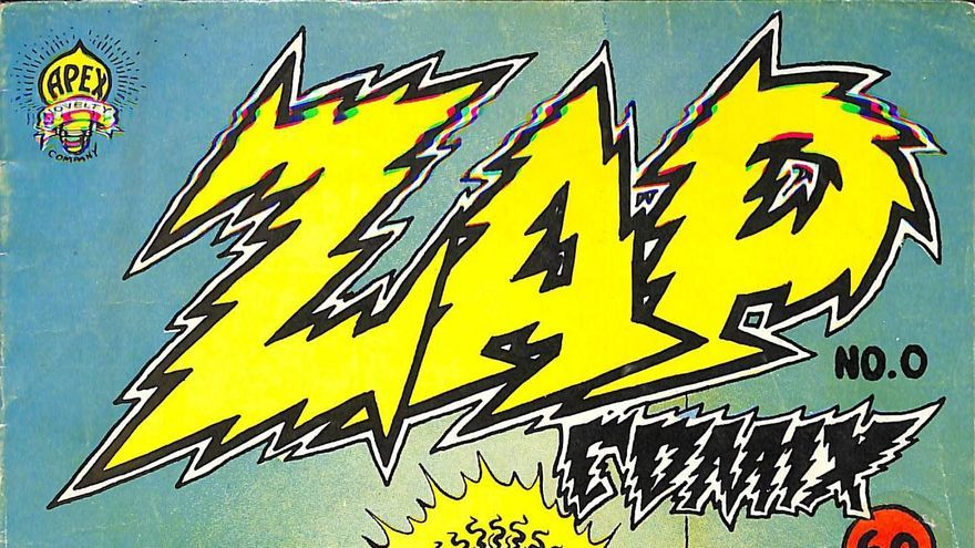Zap Comix nº 0, del año 1968.