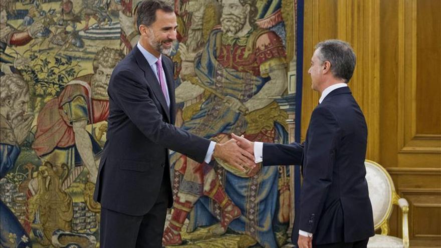 Urkullu se reunió con el Rey para buscar acuerdos, no para rendir pleitesía
