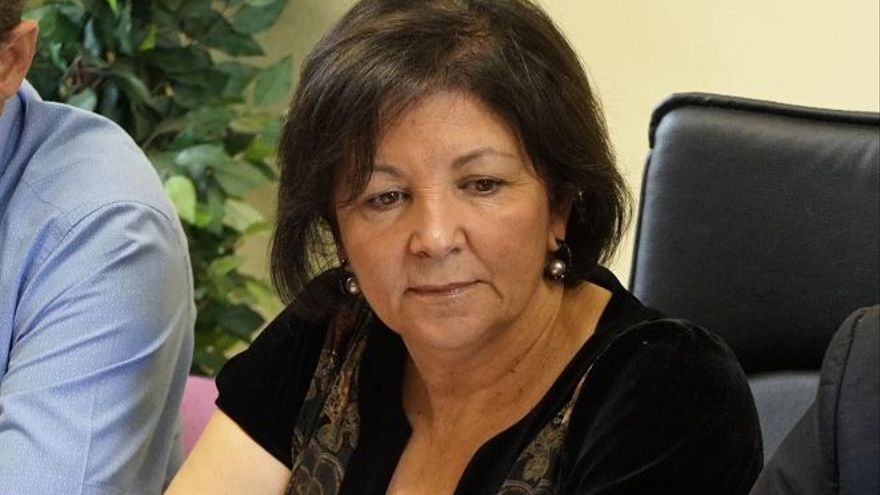Agustina Beltrán, alcaldesa de Vilaflor, en el sur de Tenerife