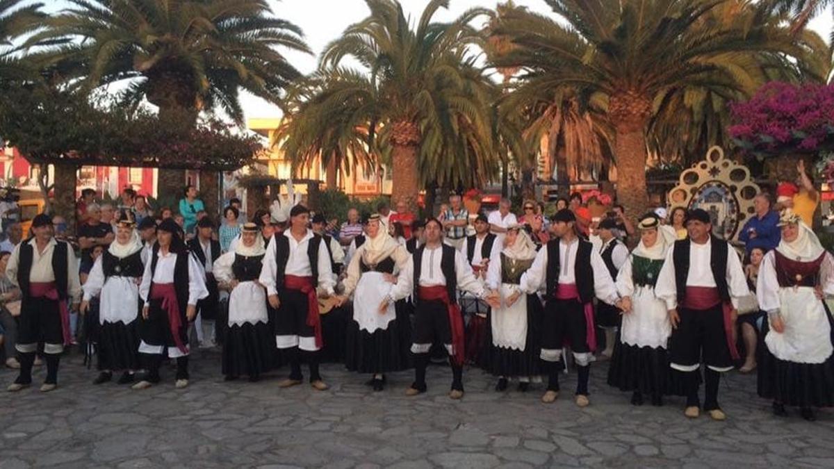 Imagen de archivo de  la Agrupación Folclórica Cumbre Nueva de El Paso