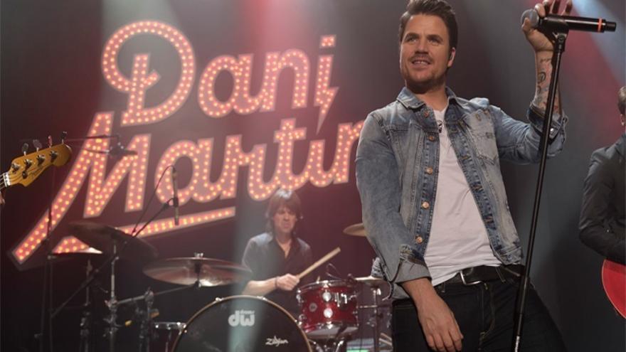 Dani Martín presentará su nuevo trabajo 'La montaña rusa' en Santander el 18 de febrero