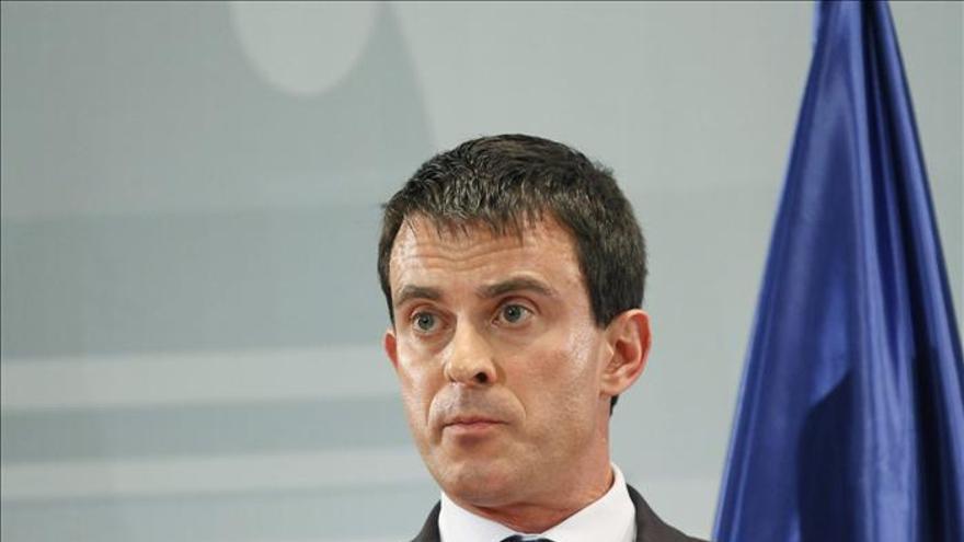 El ministro de Interior francés, Manuel Valls