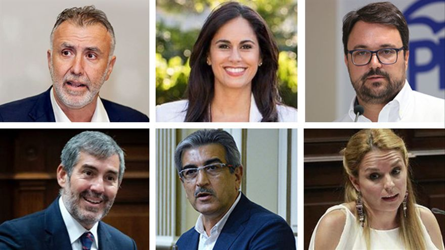Candidatos y candidatas a la presidencia de Canarias en las próximas elecciones del 26 de mayo.