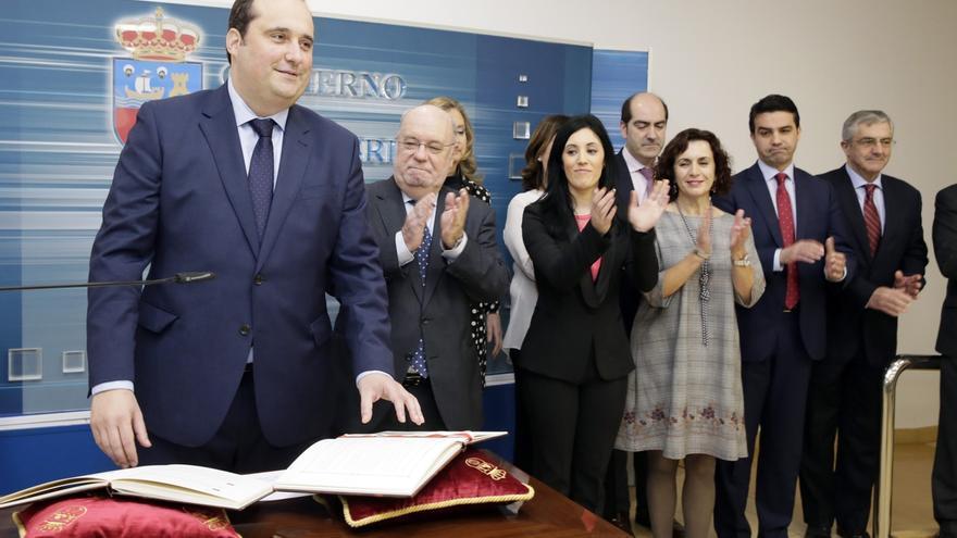 Pedro Pérez Eslava toma posesión como interventor general
