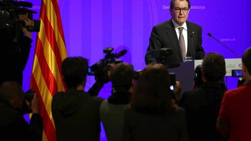 Artur Mas recurre la fianza de 5,2 millones por el 9N alegando indefensión