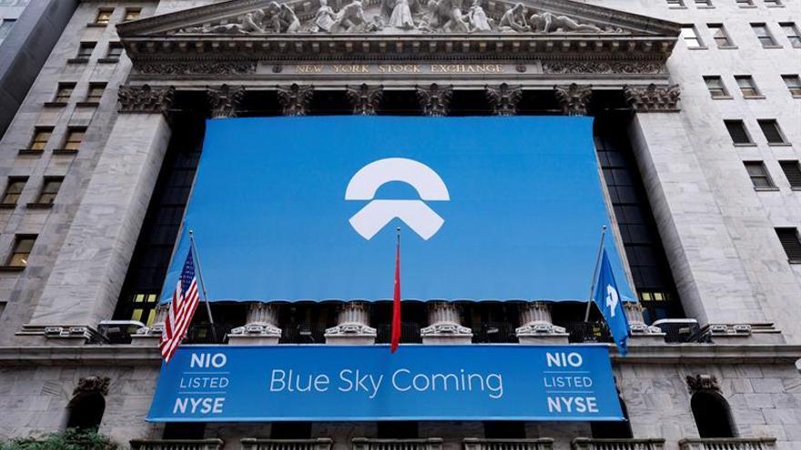 Nio, una posible rival china de Tesla, sale a bolsa en Wall Street