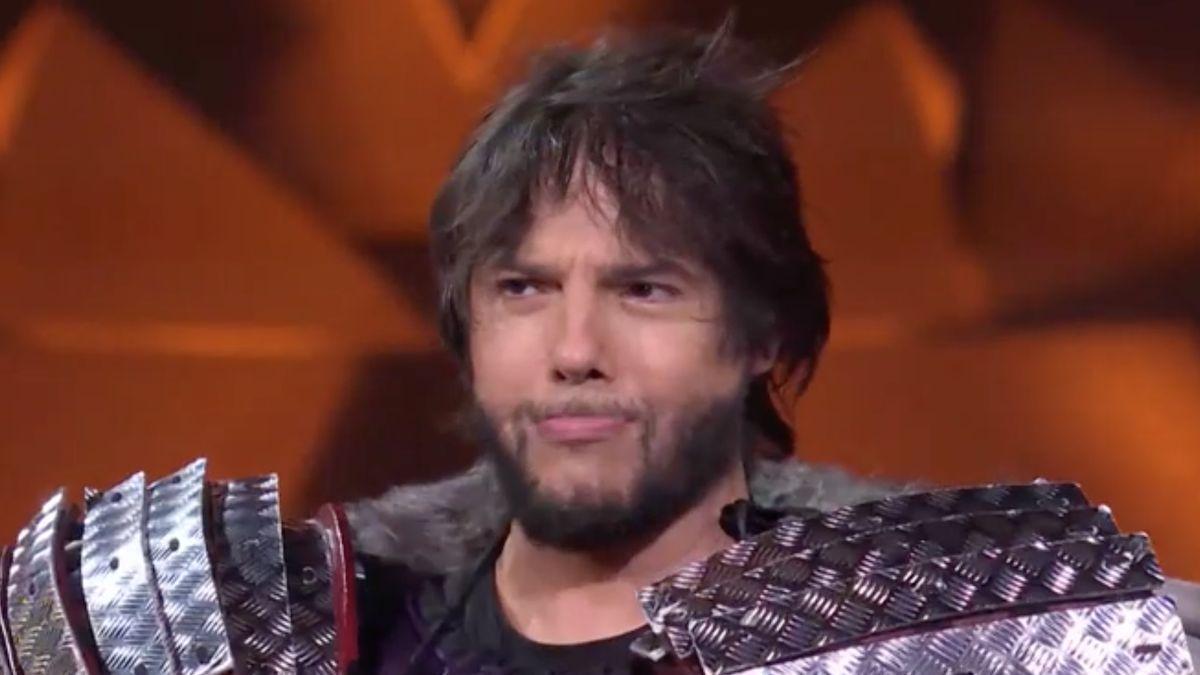 Joaquín Cortés, tras desvelar quien estaba bajo la máscara del erizo.