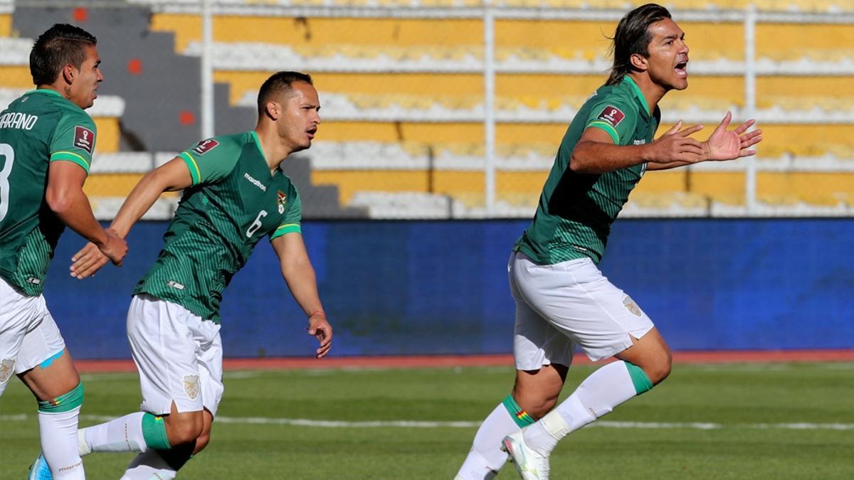 Moreno Martins, entre los cinco casos positivos del seleccionado de Bolivia..