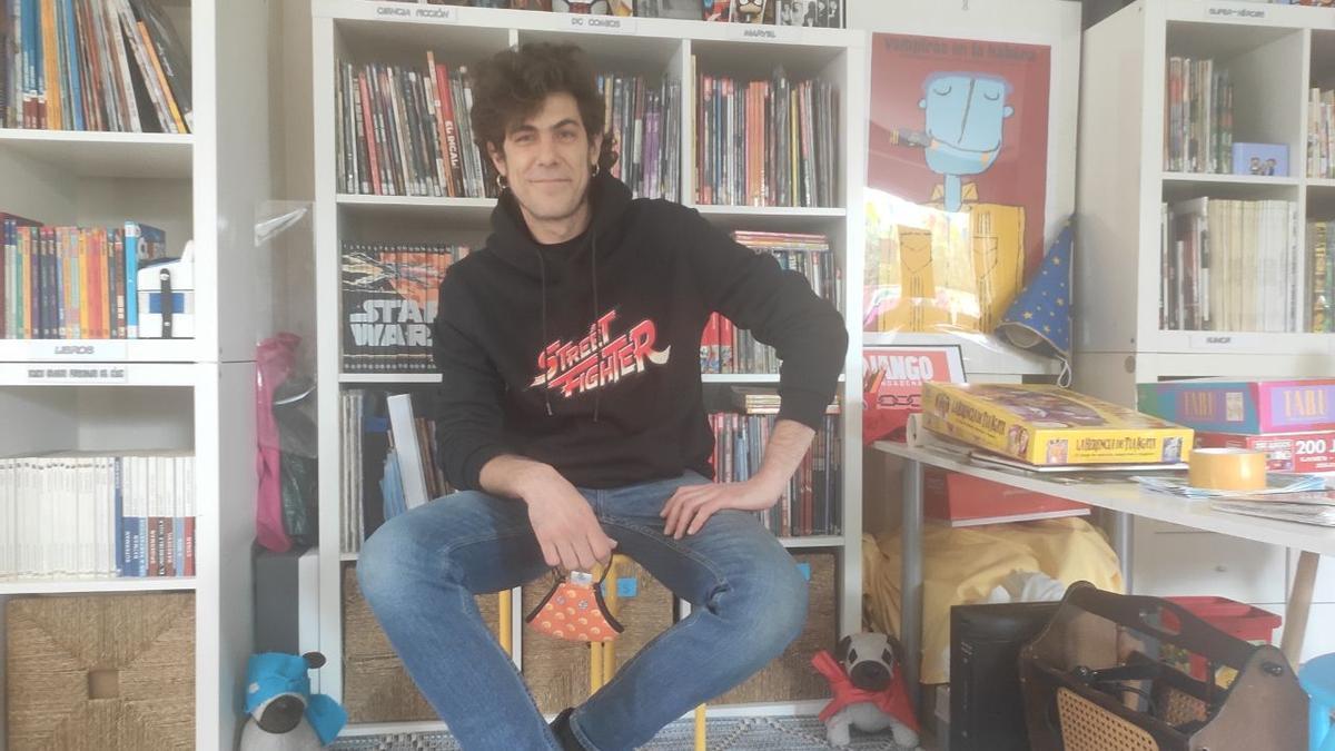Kike Cimadevila, uno de los fundadores de Fotogramas y Viñetas